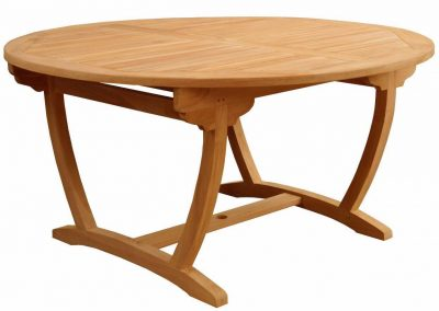 ROUND FIXED LEG TABLE