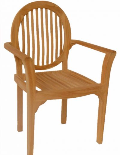 OVAL STACKING CHAIR